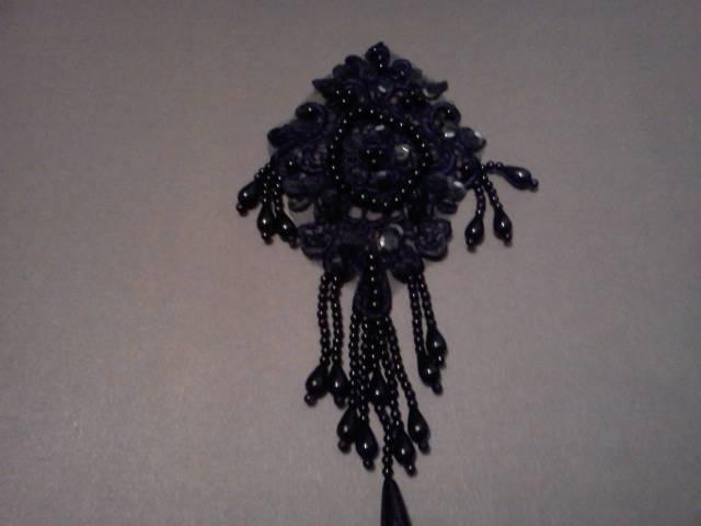 Black Pearl Applique