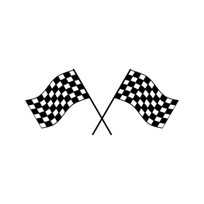Race Checkered Flag Win Graphics SVG Dxf EPS Png Cdr Ai Pdf Vector Art Clipart