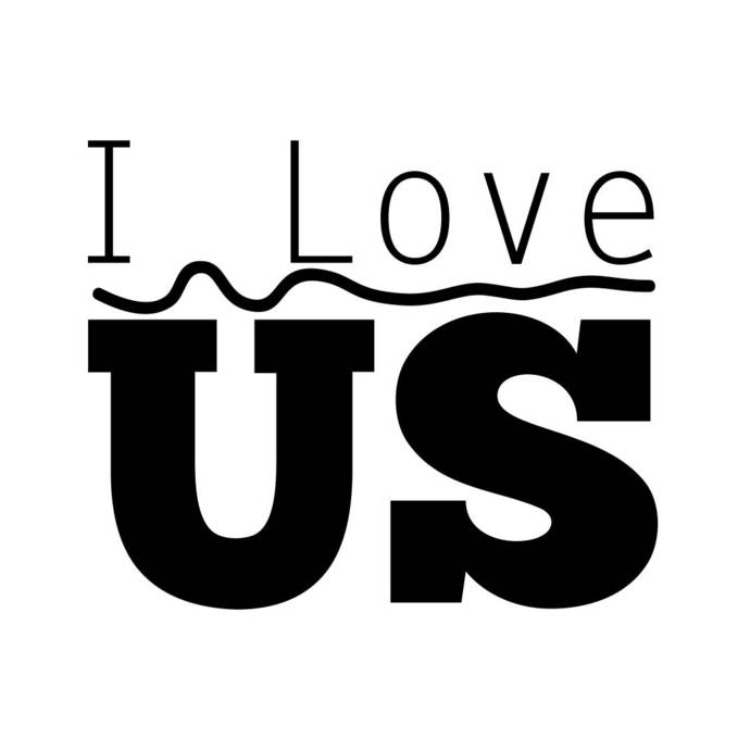 I Love Us Phrase Quote Graphics SVG Dxf EPS Png Cdr Ai Pdf Vector Art Clipart