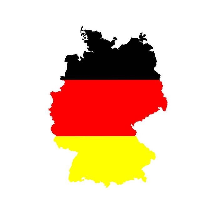 Germany Map flag Graphics SVG Dxf EPS Png Cdr Ai Pdf Vector Art Clipart instant