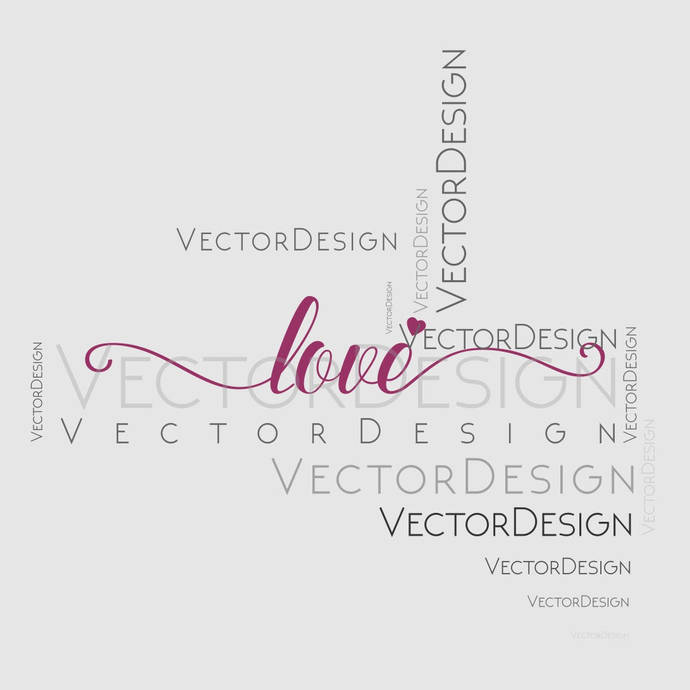 Love Valentines Day Graphics Dxf EPS Png Cdr Ai Pdf Vector Art Clipart instant
