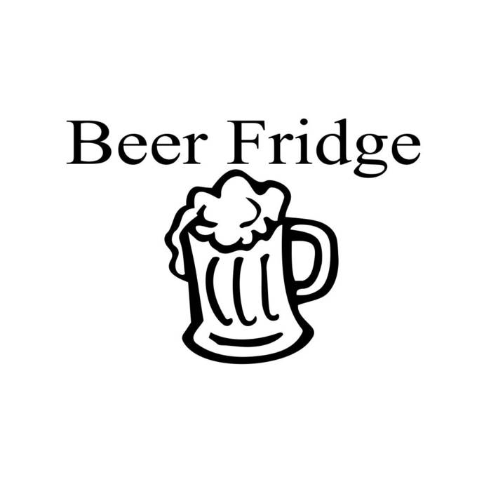 Beer Fridge Funny Graphics SVG Dxf EPS Png Cdr Ai Pdf Vector Art Clipart instant