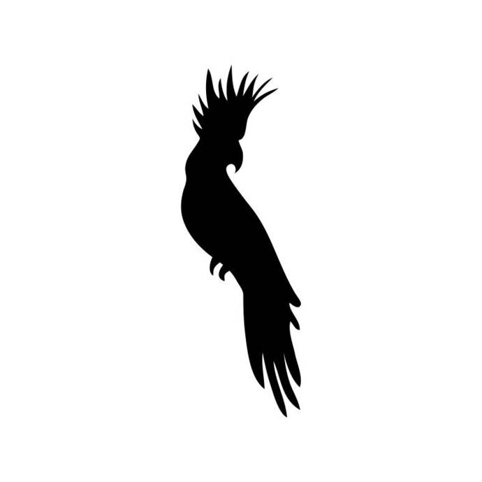 Cockatoo Bird Wildlife Graphics SVG Dxf EPS Png Cdr Ai Pdf Vector Art Clipart