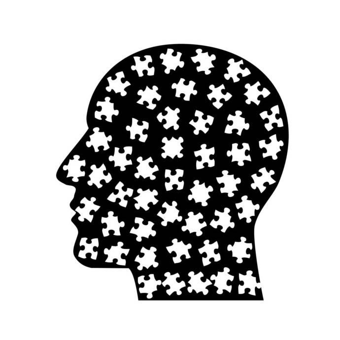 Cranium Head Puzzle Graphics SVG Dxf EPS Png Cdr Ai Pdf Vector Art Clipart