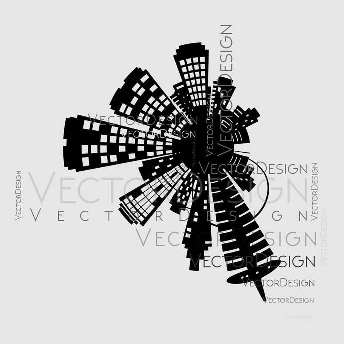 Architecture Building SVG EPS Png Pdf Vector Art Clipart instant download