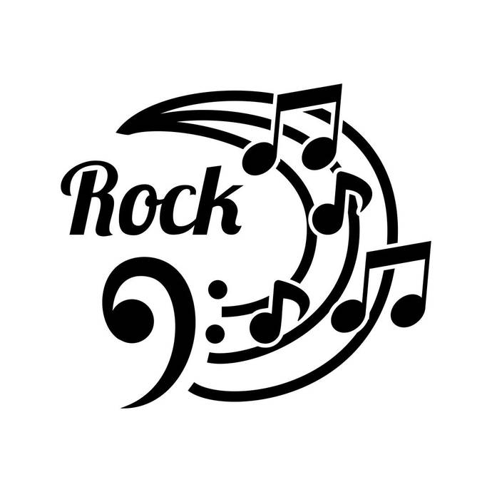 Rock Music Graphics SVG Dxf EPS Png Cdr Ai Pdf Vector Art Clipart instant