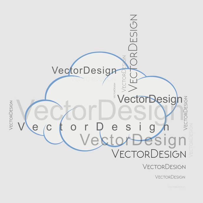 Cloud Weather Sky SVG design EPS Png Pdf Vector Art Clipart instant download