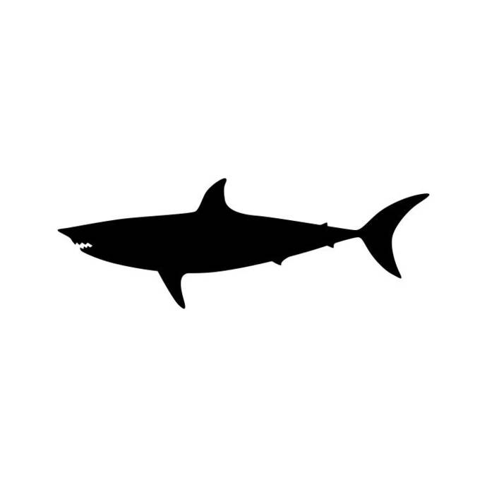 Shark Animal Graphics SVG Dxf EPS Png Cdr Ai Pdf Vector Art Clipart instant