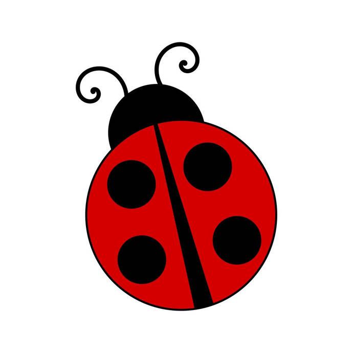 Ladybug Bug Graphics SVG Dxf EPS Png Cdr Ai Pdf Vector Art Clipart instant