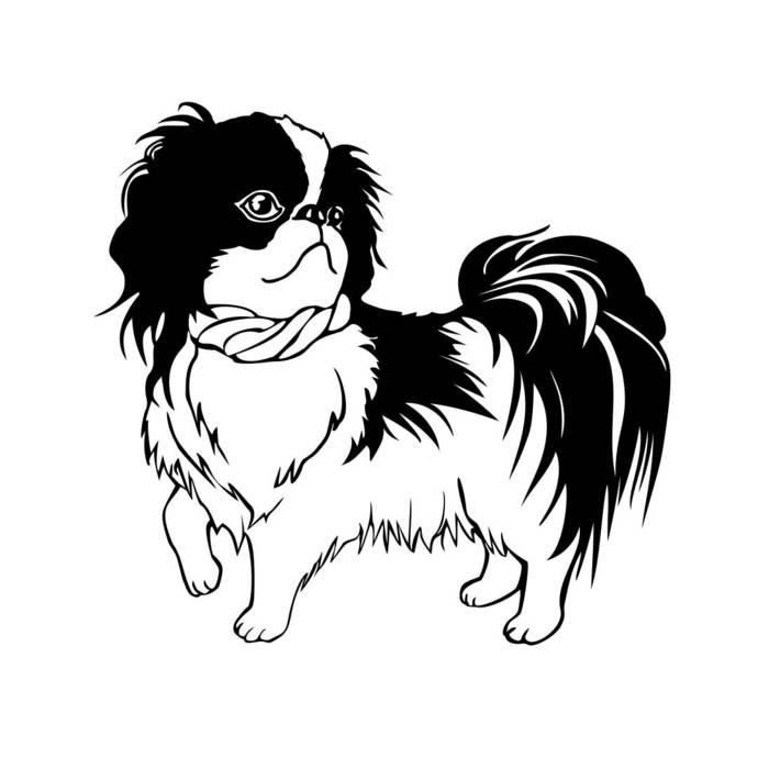 Animal Dog Chin Pet Graphics SVG Dxf EPS Png Cdr Ai Pdf Vector Art Clipart