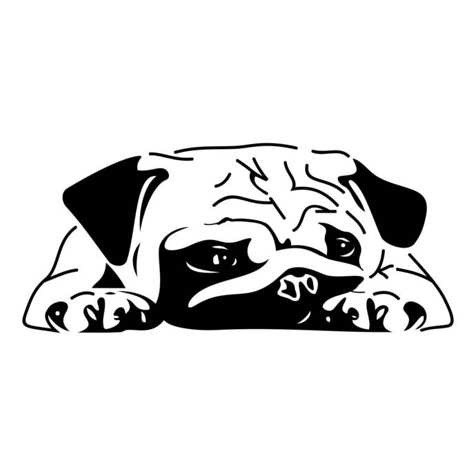 Bulldog Graphics SVG Dxf EPS Png Cdr Ai Pdf Vector Art Clipart instant download