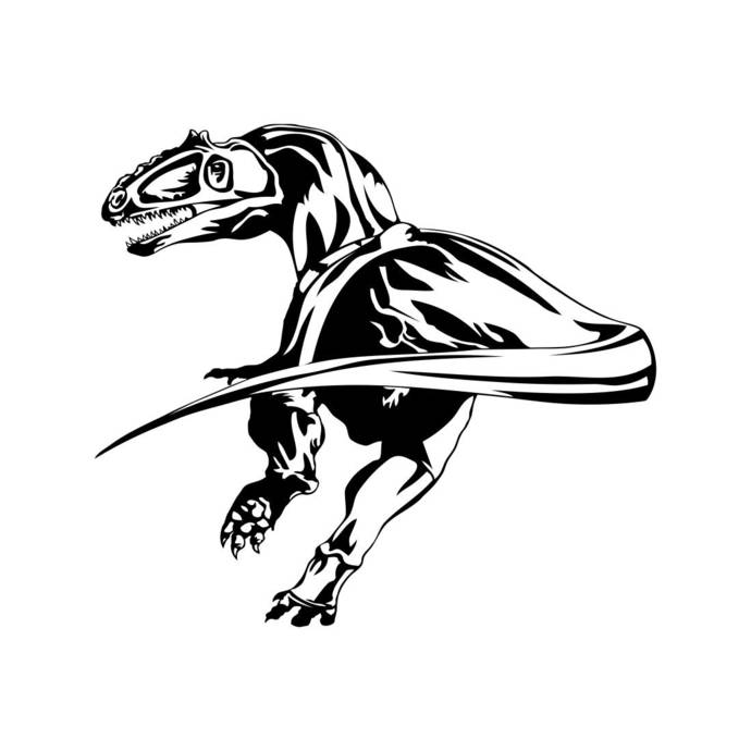Dinosaur Dino T Rex Trex Graphics Svg Dxf Eps By Vectordesign On