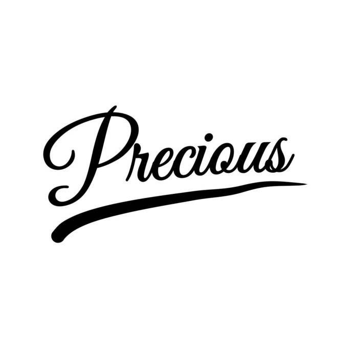 Precious Letter sign Phrase Graphics SVG Dxf EPS Png Cdr Ai Pdf Vector Art