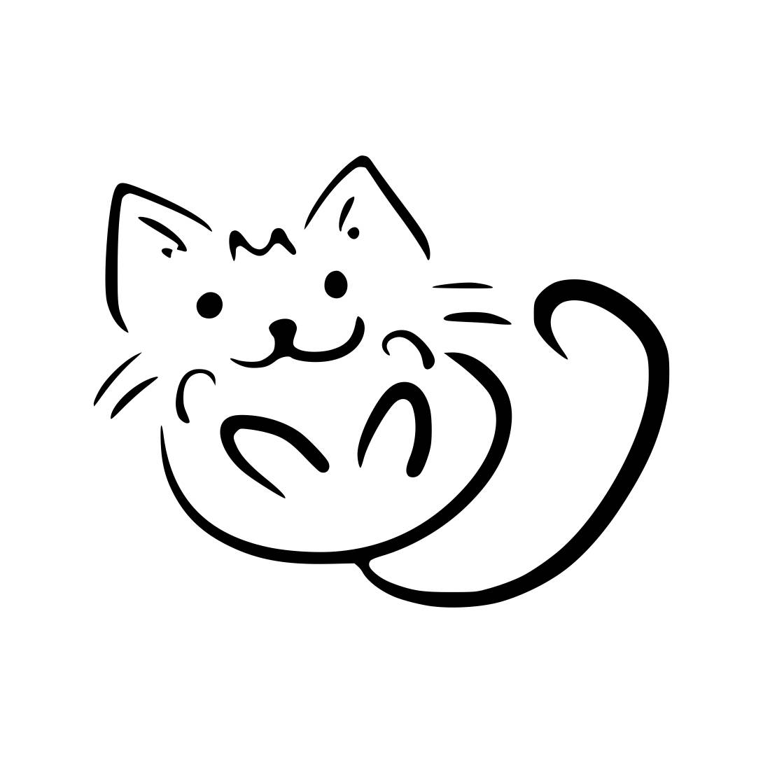 Download Cat Cute Animal Graphics SVG Dxf EPS Png Cdr by ...