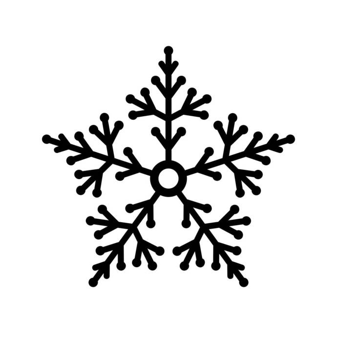 Snowflakes Christmas v7 Graphics SVG Dxf EPS Png Cdr Ai Pdf Vector Art Clipart