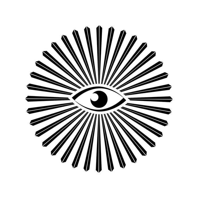 All Seeing Eye Religion Graphics SVG Dxf EPS Png Cdr Ai Pdf Vector Art Clipart