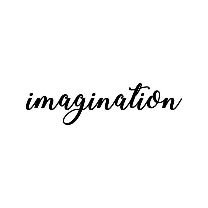 imagination Letter Phrase Graphics SVG Dxf EPS Png Cdr Ai Pdf Vector Art Clipart