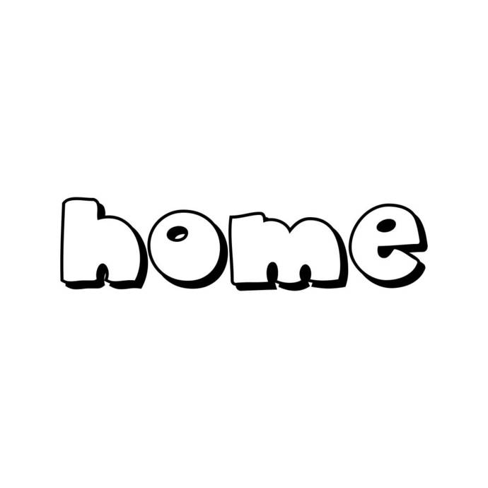 home Letter Phrase Graphics SVG Dxf EPS Png Cdr Ai Pdf Vector Art Clipart