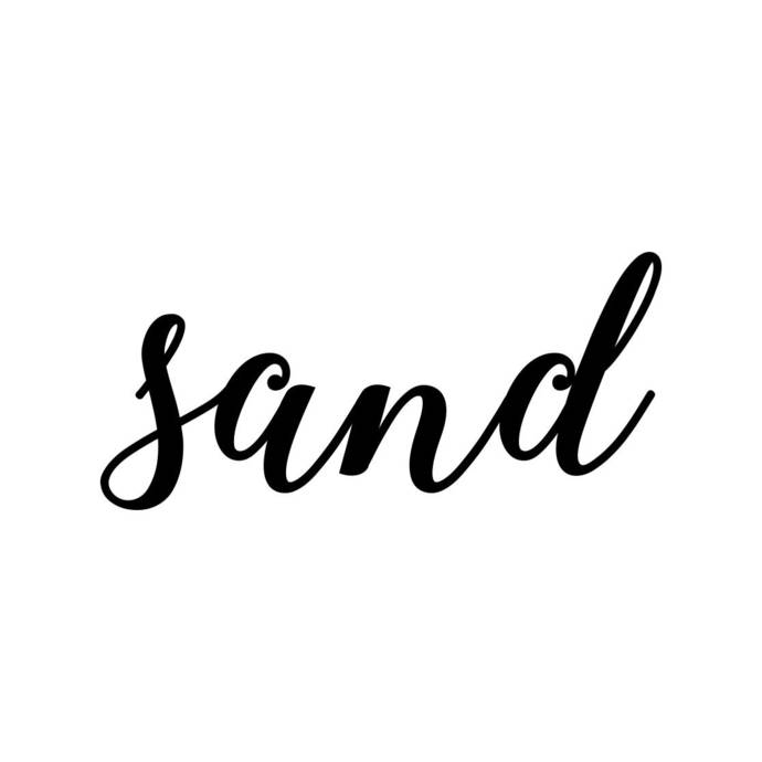 Sand Phrase Graphics SVG Dxf EPS Png Cdr Ai Pdf Vector Art Clipart instant