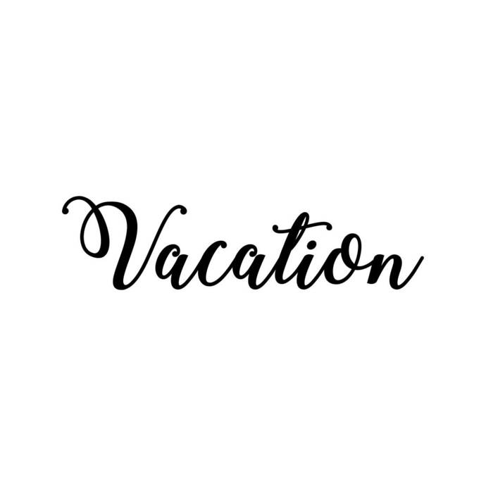 Vacation Phrase Graphics SVG Dxf EPS Png Cdr Ai Pdf Vector Art Clipart instant