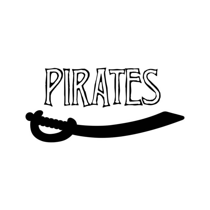 Pirates Sword Phrase Graphics SVG Dxf EPS Png Cdr Ai Pdf Vector Art Clipart