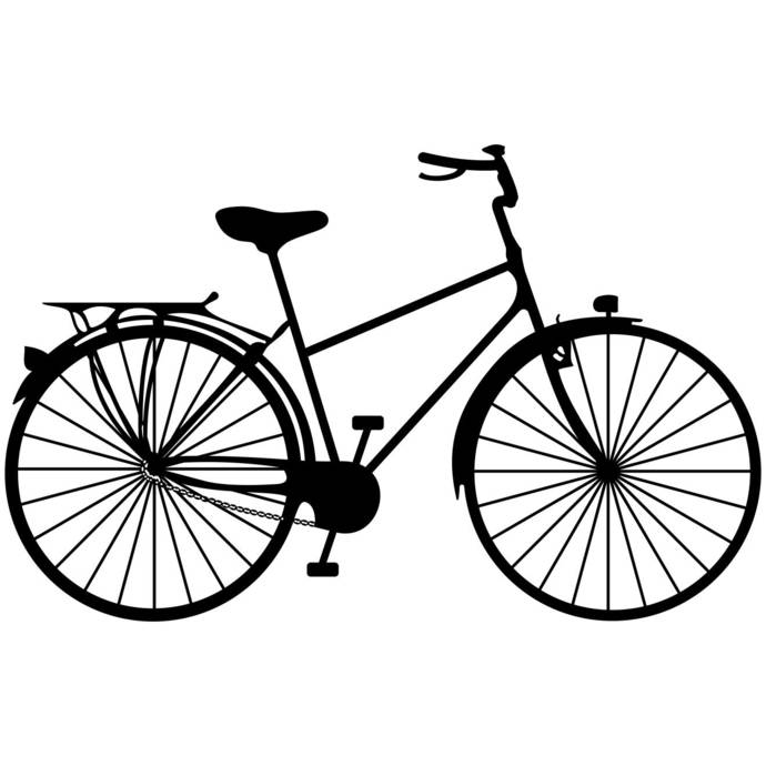 Bicycle Ride a bike Graphics SVG Dxf EPS Png Cdr Ai Pdf Vector Art Clipart