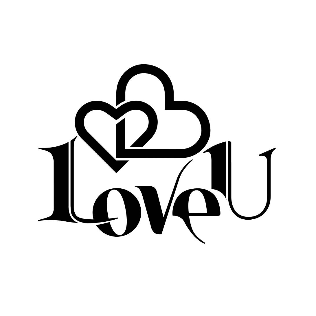 I Love You sign Graphics SVG Dxf EPS Png Cdr by ...