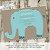 elephant theme baby shower invitation rustic baby boy shower little boy 1st