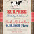 adults only birthday co-ed party invitation farm theme birthday invite country