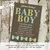 little man bow tie baby shower rustic baby boy shower invitation bow tie baptism