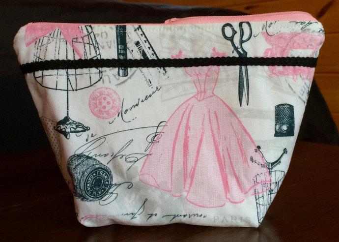 Makeup Bag Cosmetic Bag Toiletry Bag Makeup Case Bags & Purses Zippered Pouch