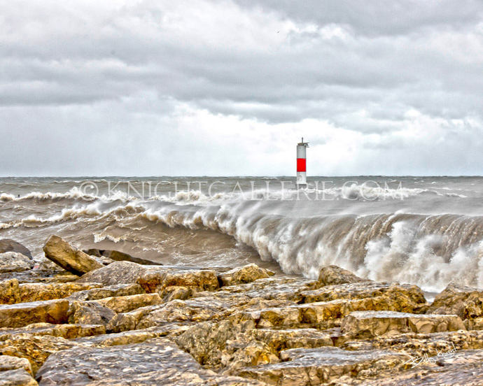 Lake Michigan Portrait: Kenosha, Wisconsin Shoreline