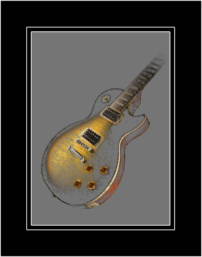 Guitar Art: The Les Paul Gold Top