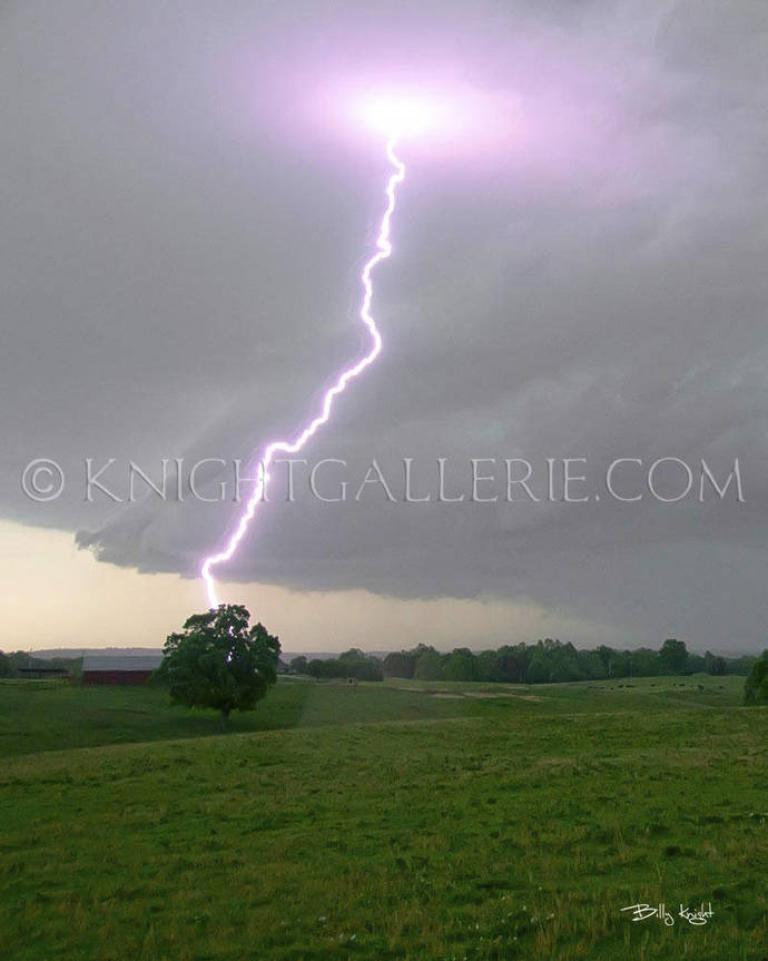 Lightning Portrait: Right Place, Right Time!