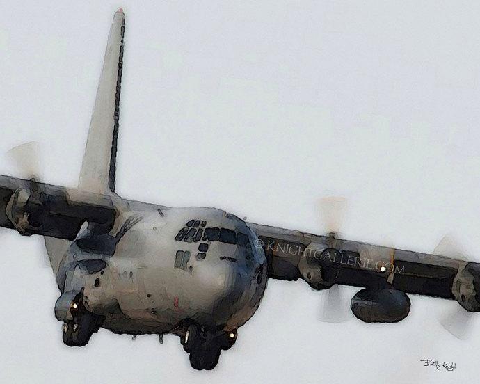 C-130 Hercules: Low Approach