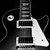 Artistic Photography; Guitar Art: Les Paul on a Brick Wall