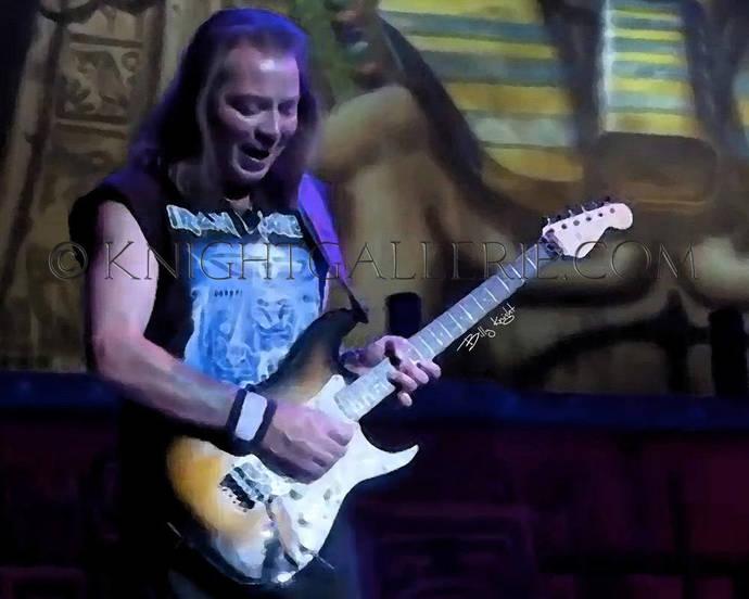 Iron Maiden: Dave Murray rendering