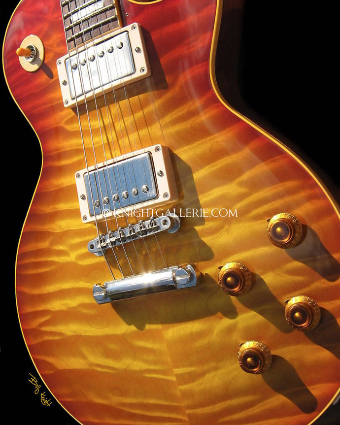 Les Paul Guitar: portrait of perfection