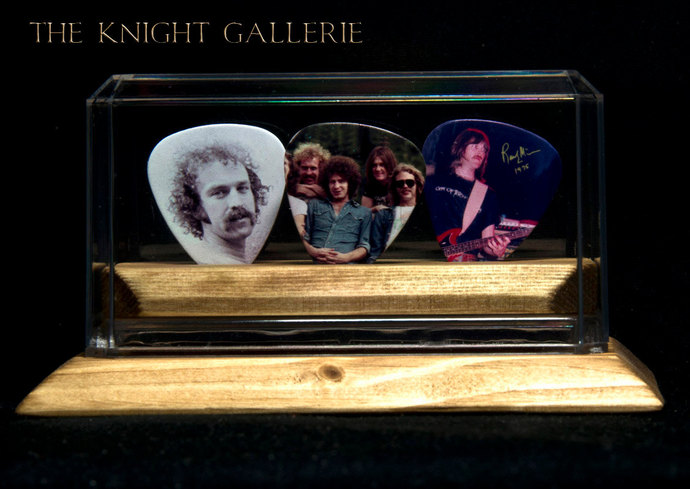 The Eagles: Commemorative Guitar Picks and Display Case