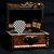 Robin Zander / Checkerboard pick in a treasure chest