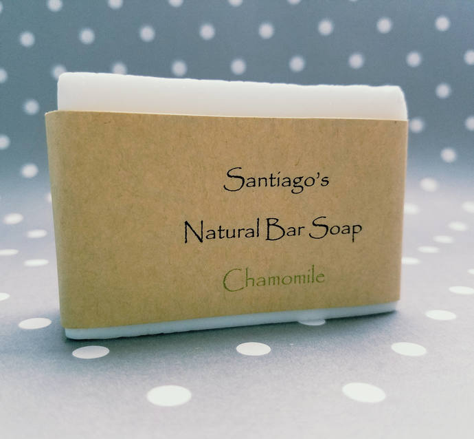 Chamomile baby bar soap - All Natural // for him // for her  // dye free soap //