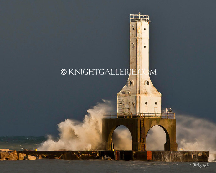 Lighthouse Portrait: Port Washington Fury