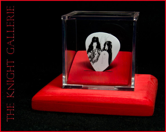 Aerosmith: commemorative guitar pick and display case
