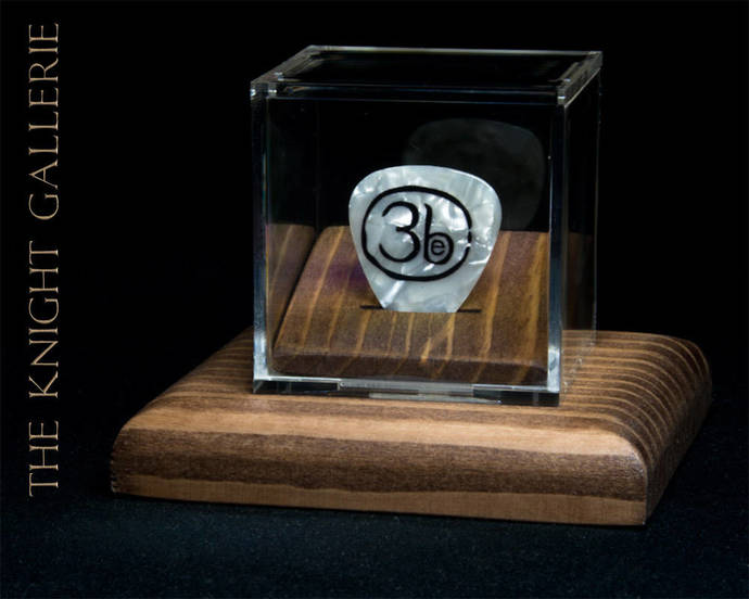 THIRD EYE BLIND: commemorative guitar pick and display case