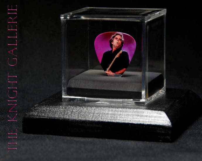 ERIC CLAPTON: commemorative guitar pick and display case