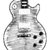 Les Paul Guitar Sketch