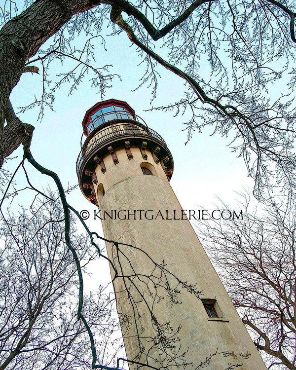 Grosse Point Lighthouse Portrait