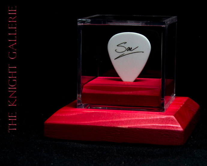 Def Leppard: Authentic Rick Savage guitar pick