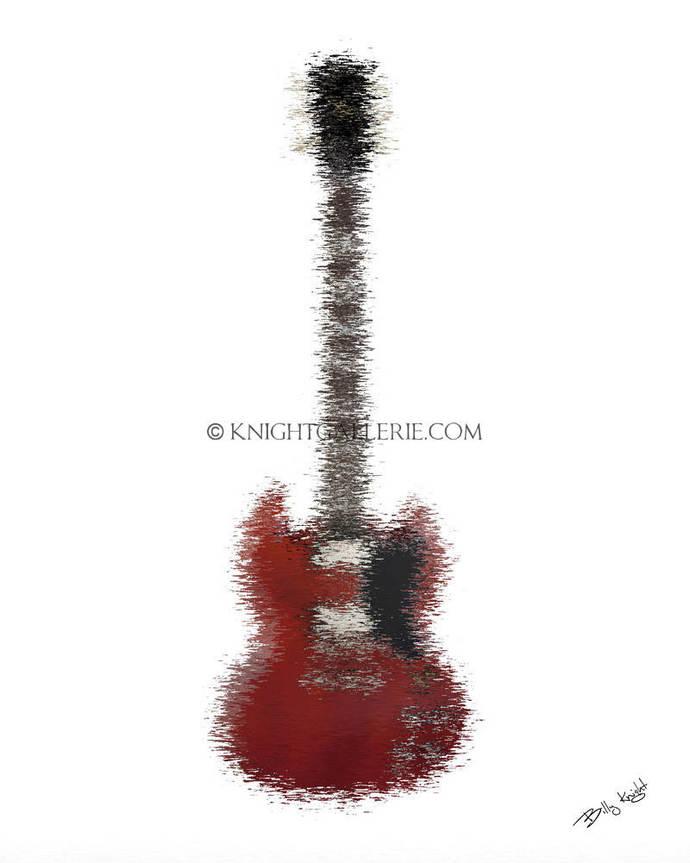 Guitar Art: The iconic Gibson SG