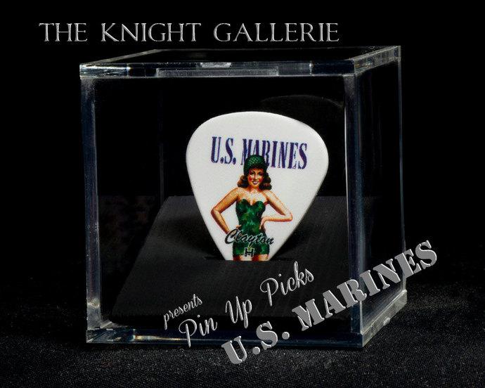 Vintage U.S. Marines Guitar Pick